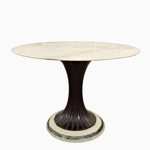 Mid-Century Pedestal Dining Table by Osvaldo Borsani, 1950s