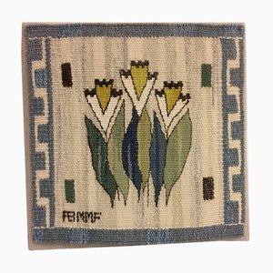 Schwedischer Vintage Woll-Wandteppich von Märta Måås-Fjetterström