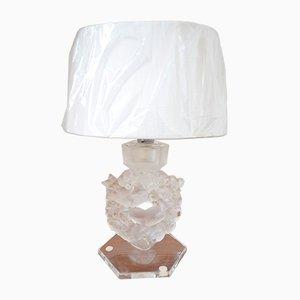 Vintage Tischlampe von Rene Lalique