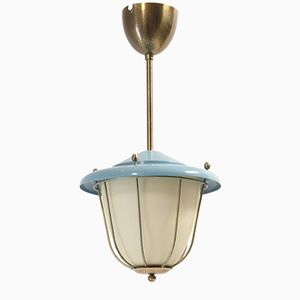 Functionalist Ceiling Light, 1950s