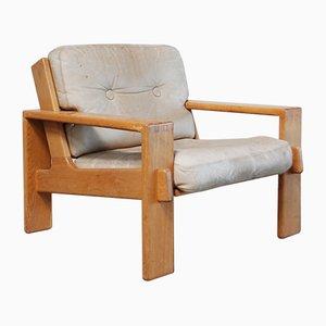 Vintage Bonanza Sessel aus Cognacbraunem Leder von Esko Pajamies für Asko