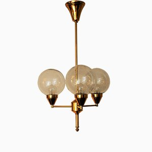 Brass Ceiling Lamp, 1960s