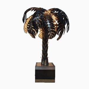 Palmier Lampe von Christian Techoueyres für Maison Jansen, 1970er