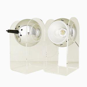 Modell 540 Tischlampe von Gino Sarfatti für Arteluce, 1968, 2er Set