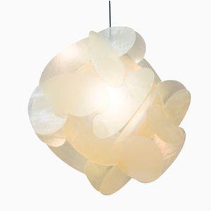 Large Fiberglas Hanging Lamp by Enrico Botta for Sundown, 1960s
