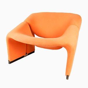 Vintage Groovy Sessel F598 von Pierre Paulin für Artifort
