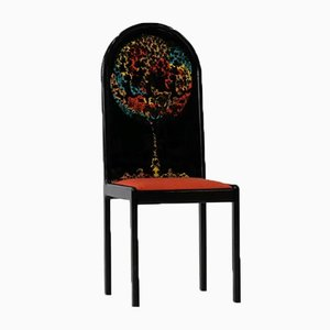 Deutscher Screen Chair von Bjorn Wiinblad für Rosenthal, 1970er
