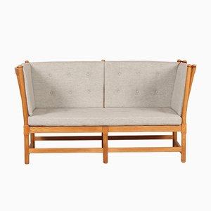 Model 1789 Spoke Back Sofa by Børge Mogensen for Fritz Hansen, 1970s