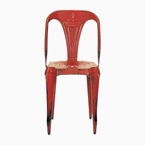 French Chair by Joseph Mathieu for Multipl's, 1950s