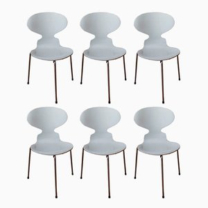 Ant Chairs by Arne Jacobsen for Fritz Hansen, 1972, Set of 6