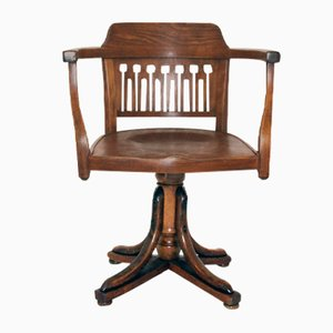 Antique Swivel Chair by Otto Wagner for J&J Kohn, 1905