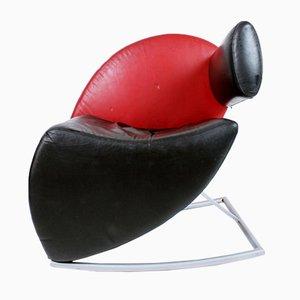 German Postmodern Rocking Lounge Chair, 1980s