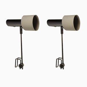 Mid-Century Spot Tischlampen von Arteluce, 2er Set