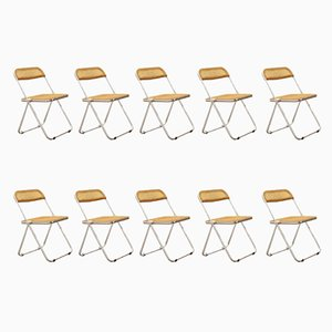 Chaises Pliantes Plia par Giancarlo Piretti pour Anonima Castelli, Set de 10