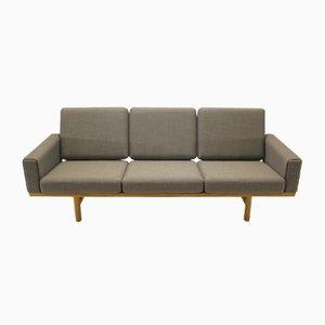Vintage GE236 3-Seater Sofa by Hans J. Wegner for Getama