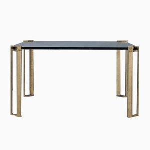 Table Basse en Bronze et Verre par Peter Ghyczy, 1970s