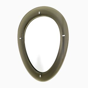 Mirror with Beveled Glass Frame from Fontana Arte, 1950s