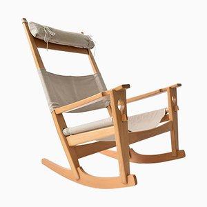 Keyhole Rocking Chair by Hans J. Wegner for Getama, 1960s