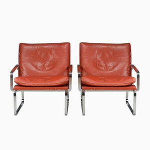 Danish Lounge Chairs by Jørgen Lund & Ole Larsen for Bo-Ex, 1960s, Set of 2