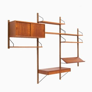 Royal System Wall Unit by Poul Cadovius, 1950s