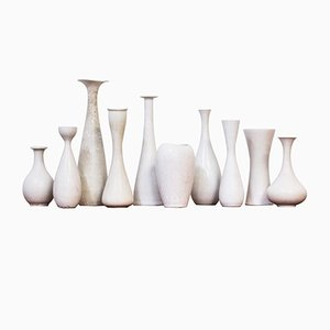 Vases by Carl-Harry Stålhane for Rörstrand, 1950s, Set of 10
