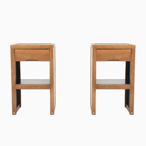 Tables de Chevet Vintage par André Sornay, 1960s, Set de 2