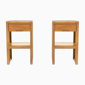 Tables de Chevet Vintage par André Sornay pour Sornay company, 1960s, Set de 2