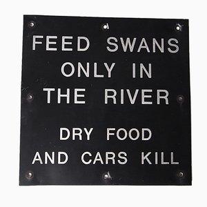 Vintage British Park Sign