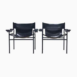 Lounge Sessel von Walter Antonis für 't Spectrum, 1970er, 2er Set