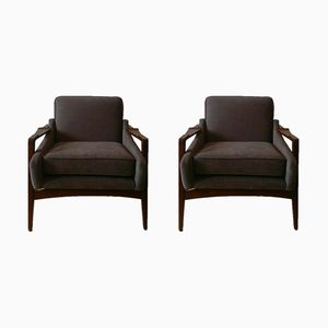 Armchairs by Jens Risom for Knoll International, 1960s, Set of 2