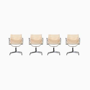 EA 107 Chairs by Charles & Ray Eames for Herman Miller, 1950s, Set of 4