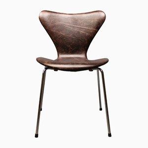 Chaise Modèle 3107 par Arne Jacobsen de Fritz Hansen, 1960s