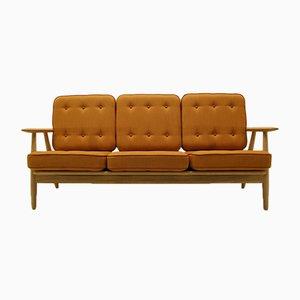 GE240/3 Sofa by Hans J Wegner Sofa for Getama, 1950s