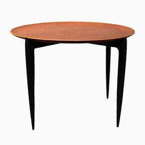 Niedriger Tisch mit Tablett von H. Engholm & Svend Åge Willumsen für Fritz Hansen, 1970er