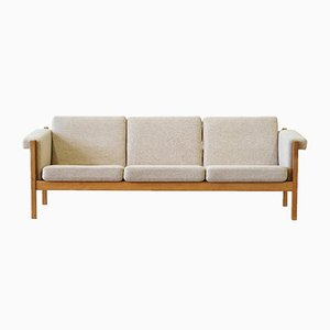 Model GE-40 Three-Seater Sofa by Hans J. Wegner for Getama, 1950s