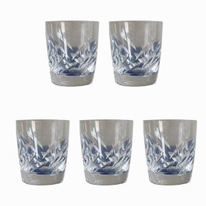 Vintage Whiskey Glasses from Lalique, Set of 5