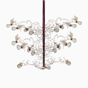 Ceiling lights by ingo maurer online at pamono birds birds birds chandelier by ingo maurer 1992 aloadofball Image collections
