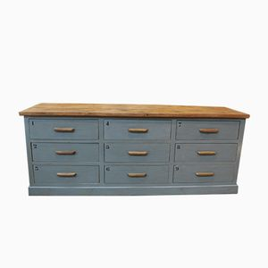 Mid Century Oak Chest Of Drawers 1950s