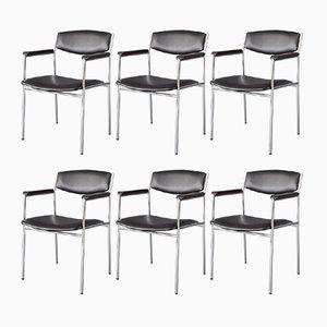 Vintage Esszimmerstühle von Gijs van der Sluis für 't Spectrum, 6er Set