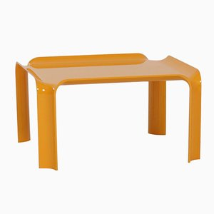 Small Yellow 877 Coffee Table by Pierre Paulin for Artifort, 1960s