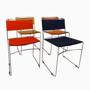 Vintage Delphina Stühle von Enzo Mari für Robots, 4er Set