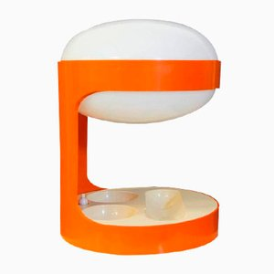 Orange KD29 Table Lamp by Joe Colombo for Kartell, 1960s