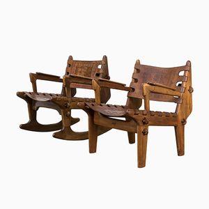 Stühle von Angel I. Pazmino, 1990er, 2er Set