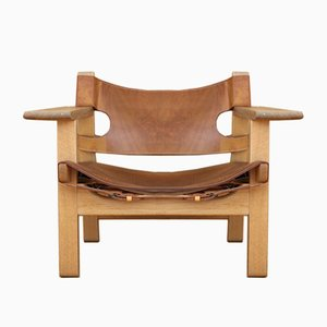 Model 226 Spanish Chair by Børge Mogensen for Fredericia, 1958