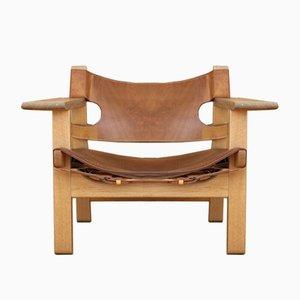 Modell 226 Spanish Chair von Børge Mogensen für Fredericia, 1958