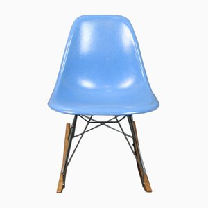 Blue Rocking Chair by Charles & Ray Eames for Herman Miller, 1960s