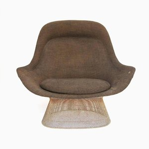 High Back Lounge Chair By Warren Platner For Knoll Inc, 1960s