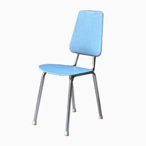 Vintage Chrome and Skai Children's Chair