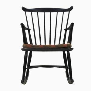 Rocking Chair par Børge Mogensen pour FDB Møbler, 1950s