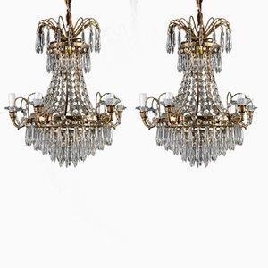 Antique chandeliers online shop shop antique chandeliers at pamono antique chandelier and set of 2 sconces aloadofball Images